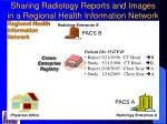 sharing radiology reports and images in a regional health information network1