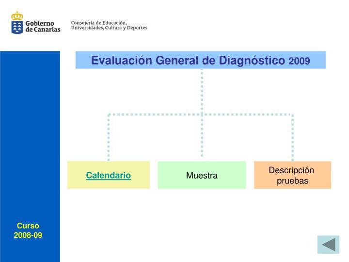 Evaluación General de Diagnóstico