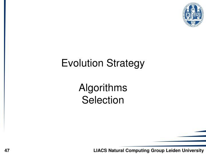 Evolution Strategy