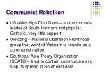 communist rebellion