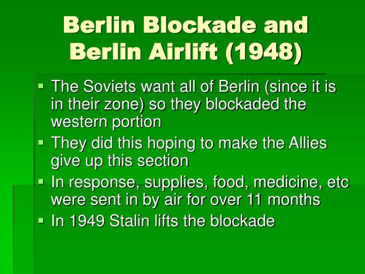 Berlin Blockade and