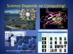 science depends on computing