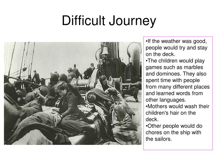 Difficult Journey