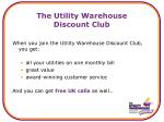 the utility warehouse discount club1