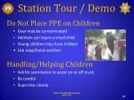 station tour demo