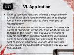 vi application