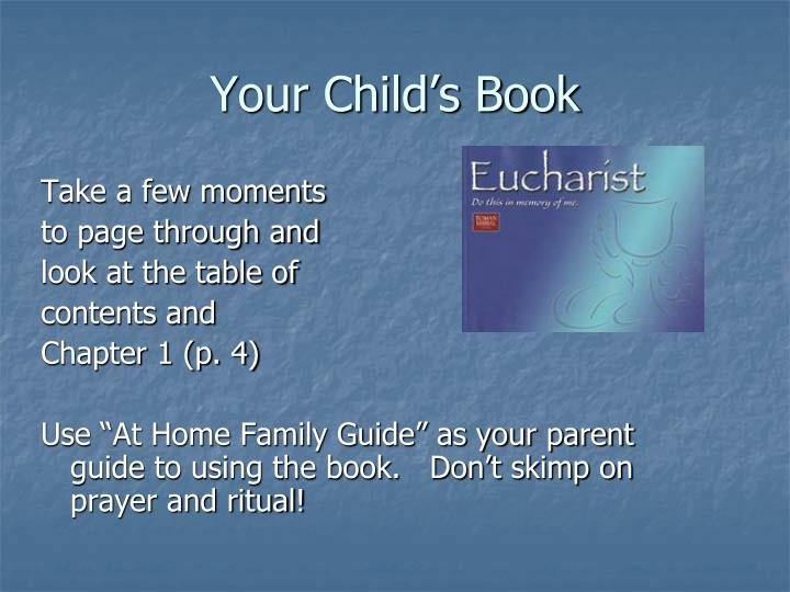 Your Child's Book