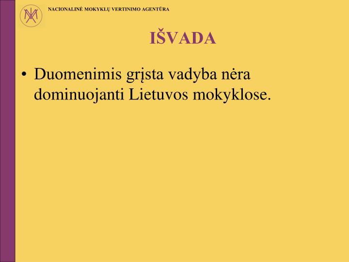 IŠVADA