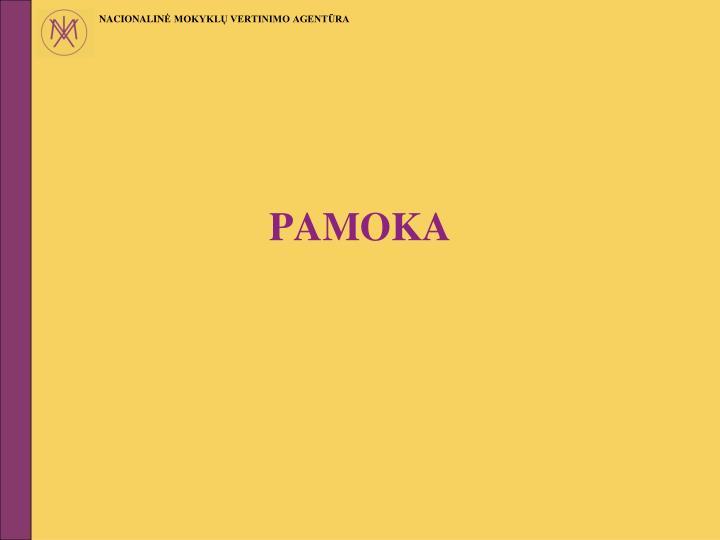 PAMOKA