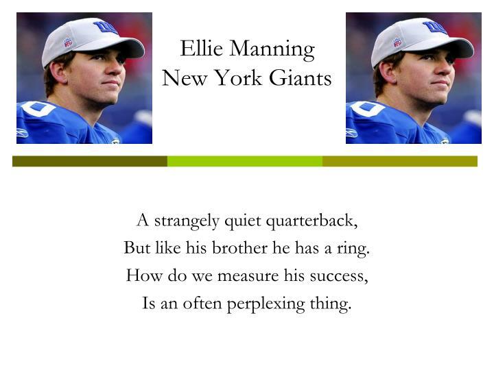 Ellie Manning