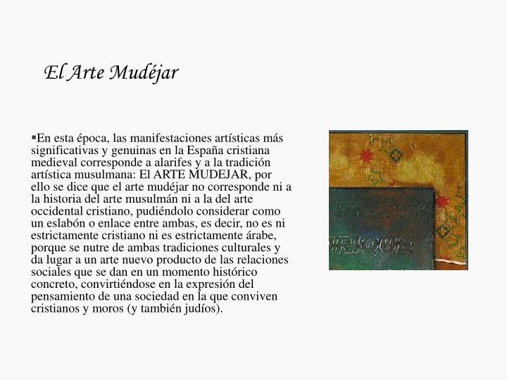 El arte mud jar