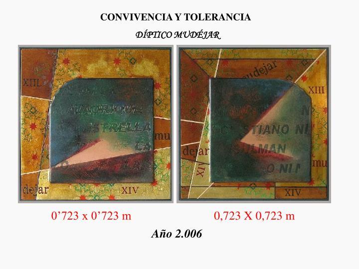 CONVIVENCIA Y TOLERANCIA