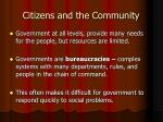citizens and the community1