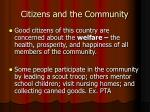 citizens and the community2