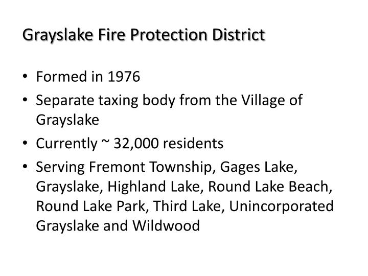 Grayslake fire protection district