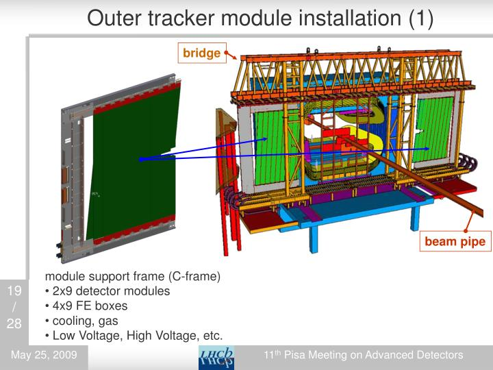 Outer tracker module installation (1)