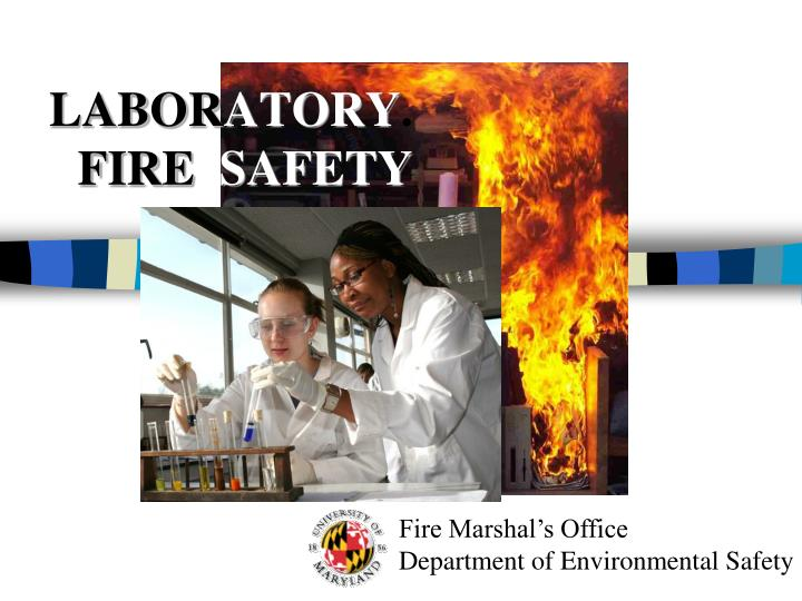 labor atory fire safety n.