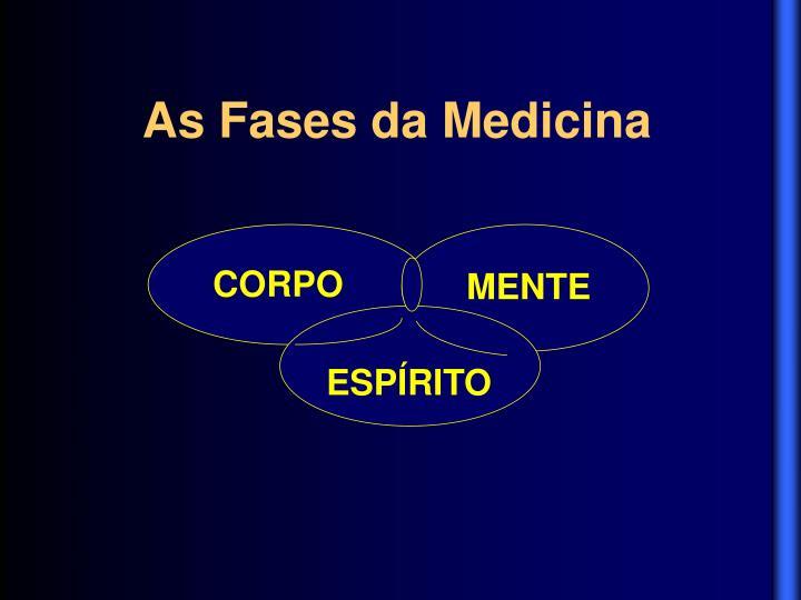 As Fases da Medicina