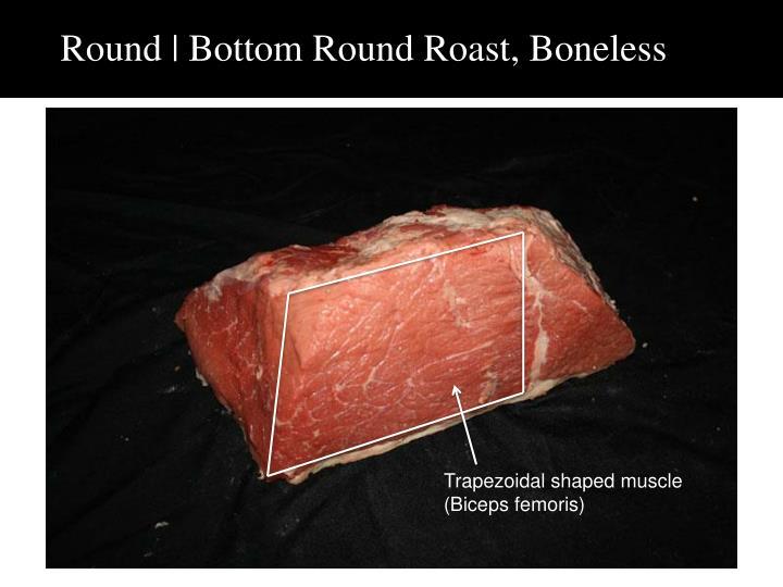 Round | Bottom Round Roast, Boneless
