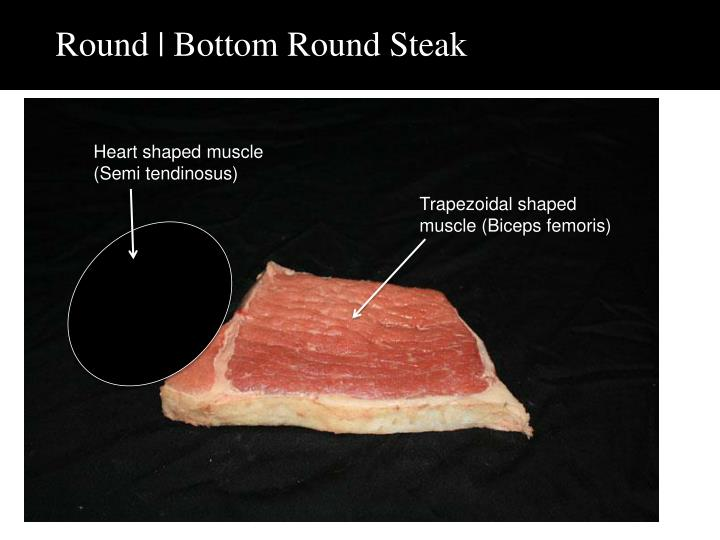 Round | Bottom Round Steak