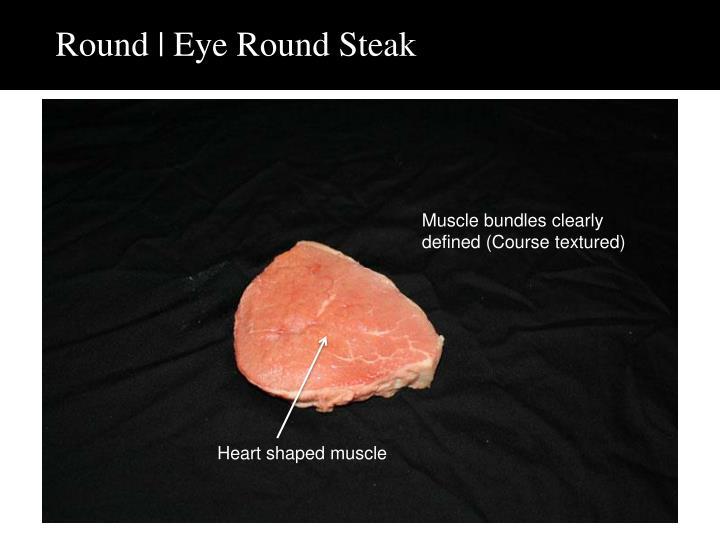 Round | Eye Round Steak