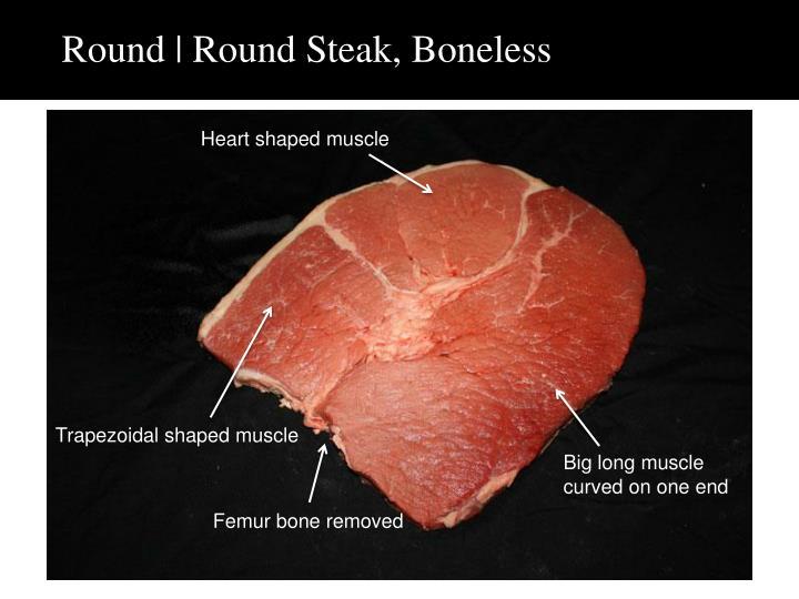 Round | Round Steak, Boneless