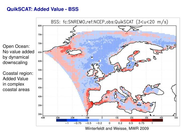 QuikSCAT: Added Value - BSS