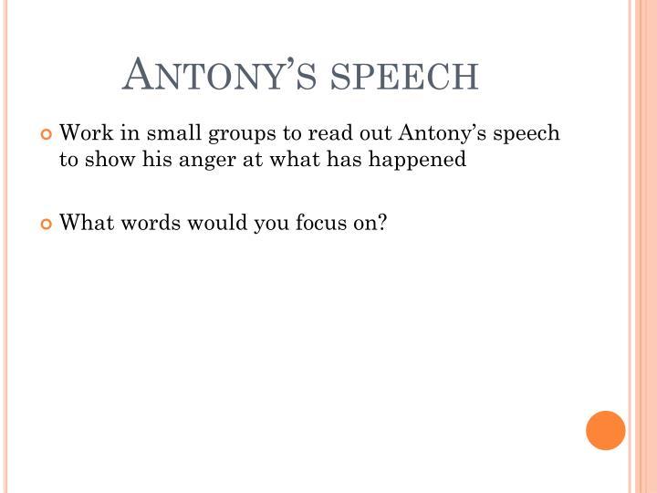 Antony's