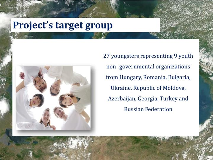 Project's target group