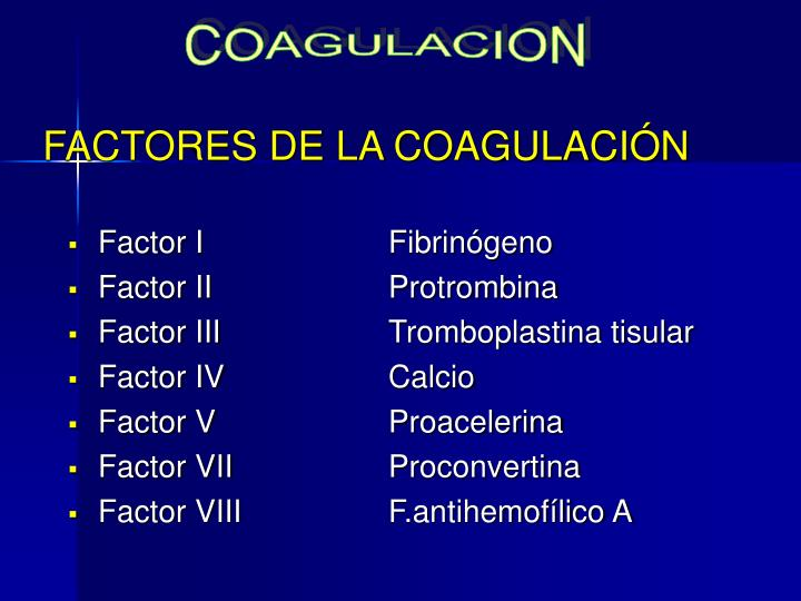COAGULACION