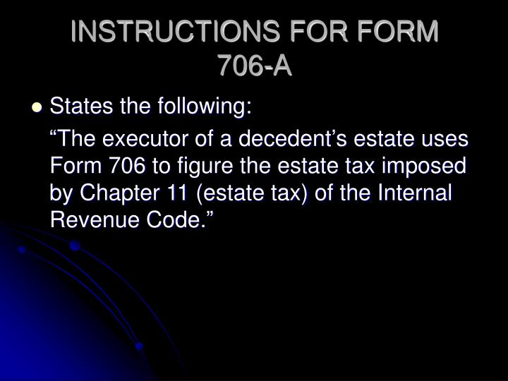 INSTRUCTIONS FOR FORM
