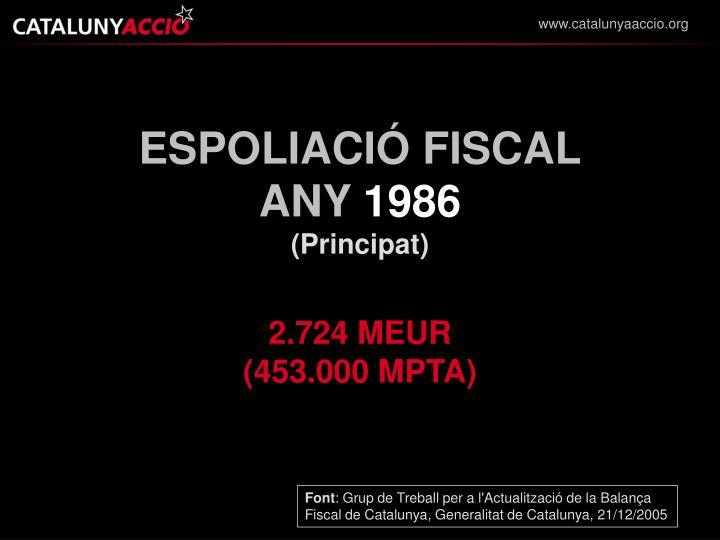 ESPOLIACIÓ FISCAL