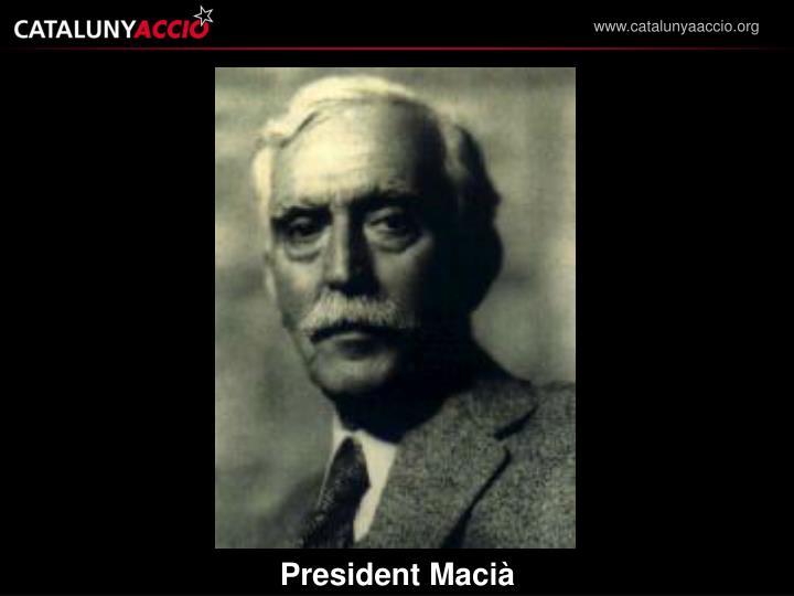 President Macià