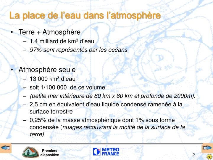 Terre + Atmosphère