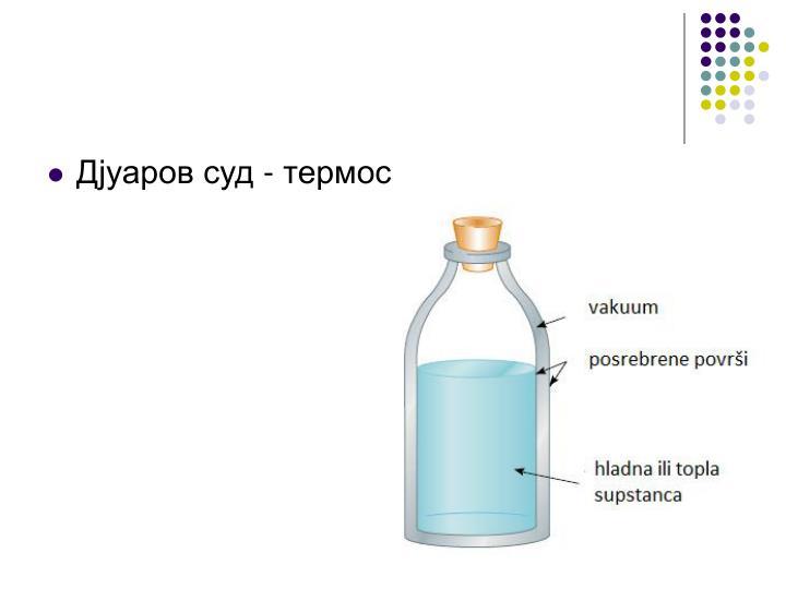 Дјуаров суд - термос