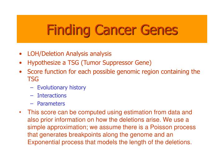 Finding Cancer Genes