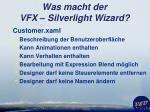 was macht der vfx silverlight wizard2