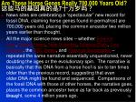 are these horse genes really 700 000 years old 7