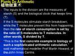 plants do arithmetic1