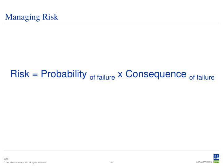 Managing Risk