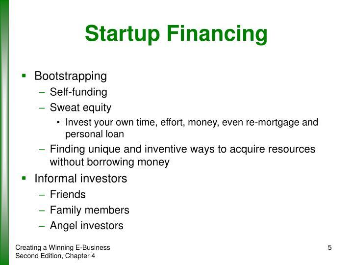 Startup Financing