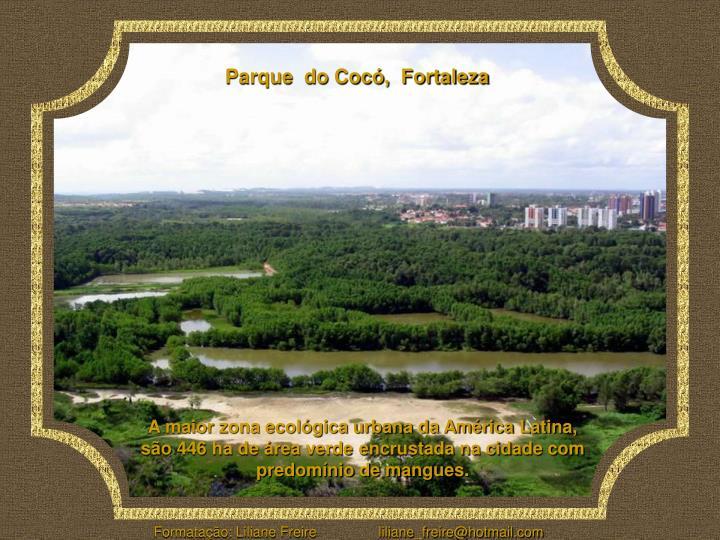 Parque  do Cocó,  Fortaleza