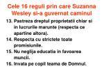 cele 16 reguli prin care suzanna wesley si a guvernat caminul3