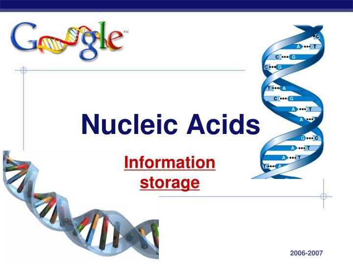 Nucleic acids1