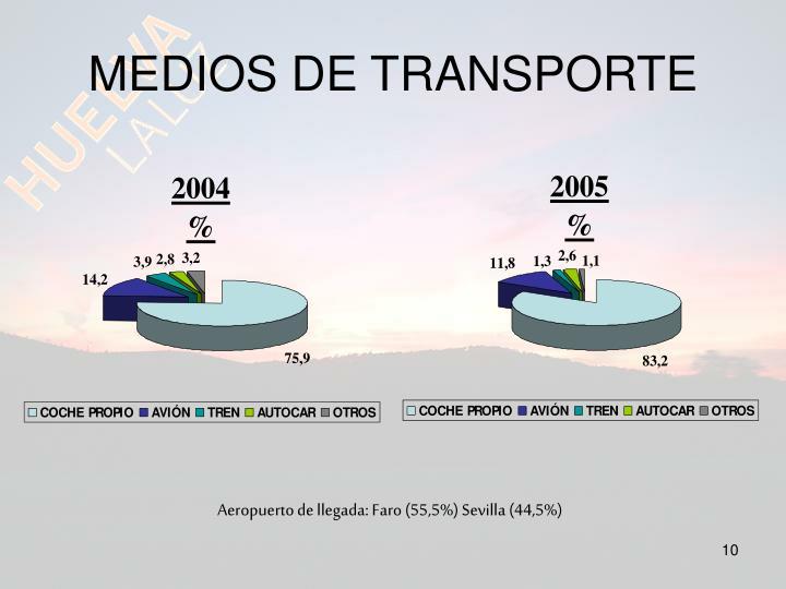 MEDIOS DE TRANSPORTE
