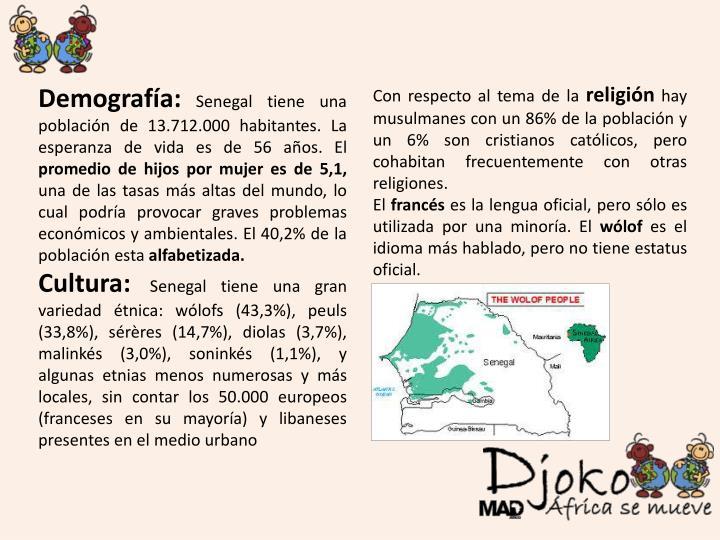 Demografía: