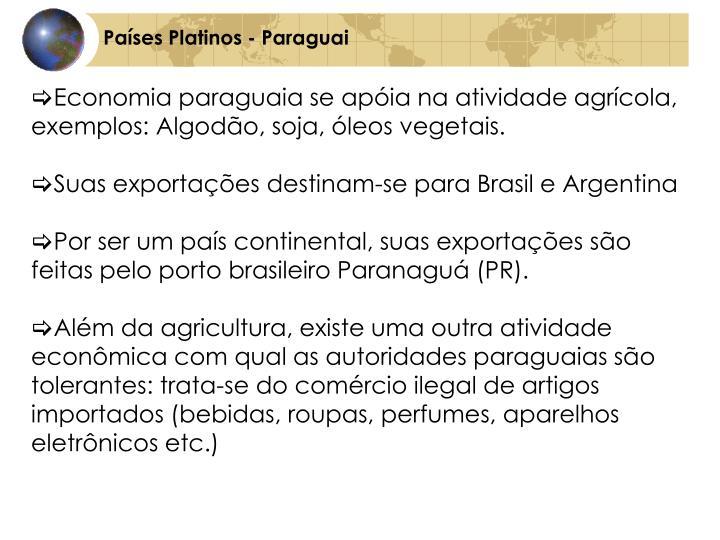 Países Platinos - Paraguai