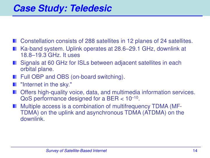 Case Study: Teledesic