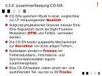 3 3 6 zusammenfassung cd da