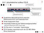 3 8 1 physikalischer aufbau cd r